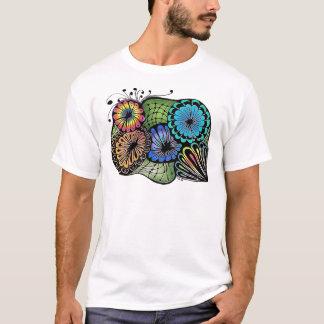 Verrückte Blumen T-Shirt