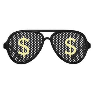Verrückte gelbe Dollar kaufenStarren- Piloten Sonnenbrillen