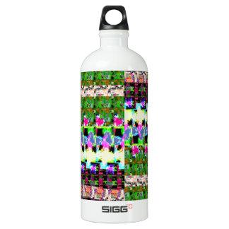 VERRÜCKTE Grafiken FLECKEN-Arbeit - Geschenke, Aluminiumwasserflasche