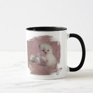 Verrückte Katzen-Dame In Training Tasse