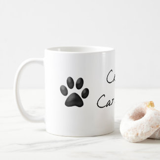Verrückte Katzen-Dame Mug Kaffeetasse
