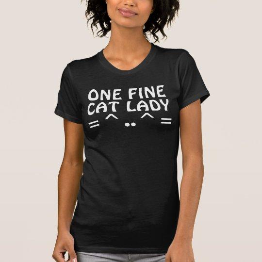 Verrückte Katzen-Damen-T - Shirts, GELDSTRAFE T-Shirt