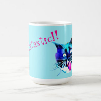 Verrückte Katzen-Tasse Kaffeetasse