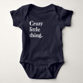 Verrückte Kleinigkeit Baby Strampler