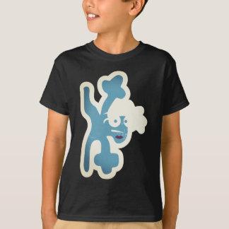 verrückte Kreatur als Breakdancer T-Shirt