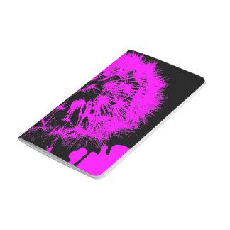 Verrückte Kunst - Löwenzahn rosa (c) Taschennotizbuch
