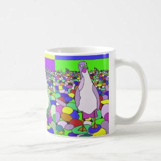 Verrückte Möven-Tasse Kaffeetasse