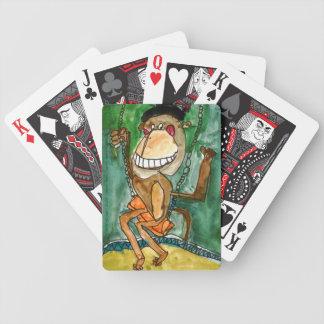 Verrückter Affe durch Andrew Heye, Alter 10 Bicycle Spielkarten