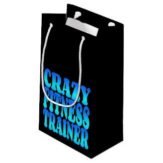 Verrückter Fitness-Trainer Kleine Geschenktüte