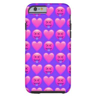 Verrückter Liebe Emoji iPhone 6/6s Telefon-Kasten Tough iPhone 6 Hülle