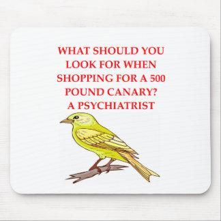 verrückter Psychiaterswitz Mousepad