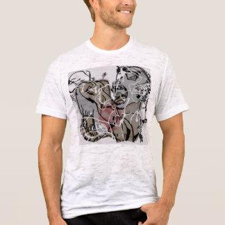 Verrückter Stromschlag T-Shirt