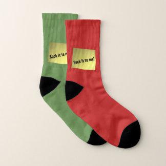 Verrücktes Duo Socken