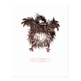 Verrücktes Huhn Postkarte