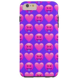 Verrücktes Liebe Emoji iPhone 6/6s plus Tough iPhone 6 Plus Hülle