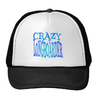 Verrücktes Longboarder Cap