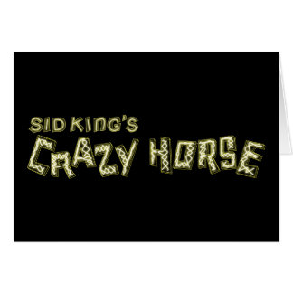 verrücktes Pferd SID-Königs Karte
