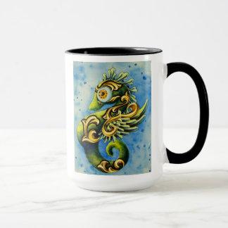 Verrücktes Seepferd Tasse