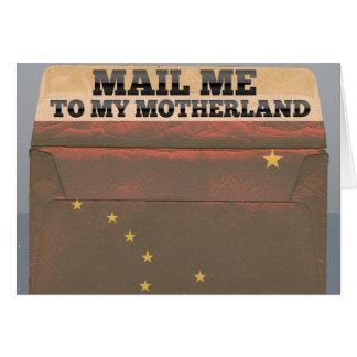 Verschicken Sie mich nach Alaska Karte