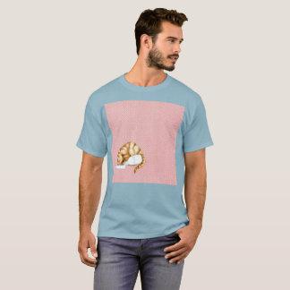Verschütteter Milch orange Gato T-Shirt