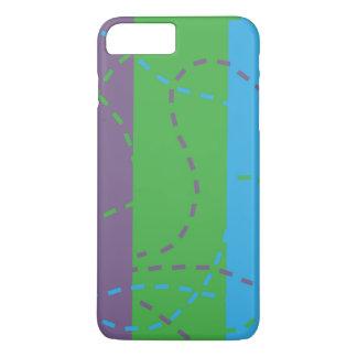 Verschwindene Spuren B/P/G iPhone 8 Plus/7 Plus Hülle