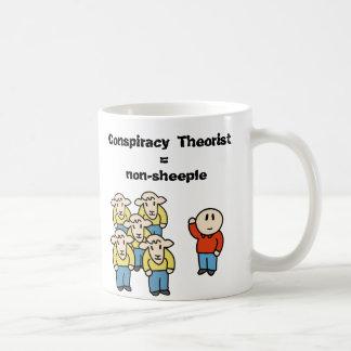 Verschwörung Theoretiker = non-sheeple Kaffeetasse