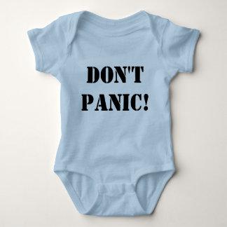 Versetzen nicht Onsie in Panik Babybody