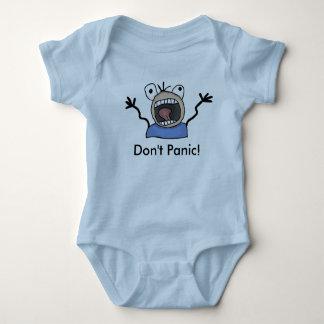 Versetzen Sie nicht in Panik! Baby wachsen Baby Strampler