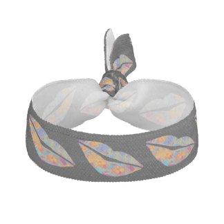 Versiegelt mit einem Kuss - tropische Art Haarschleifen