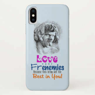 Verspotten Sie mich Frenemies ÄNDERUNGS-FARBE iPhone X Hülle