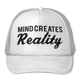 Verstand schafft Wirklichkeit Retrocap