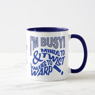 Verstand zu den Drehungs-Name-Tassen Tasse
