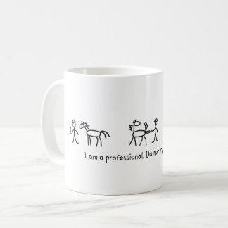 Versuchen Sie nicht dieses zu Hause (tierärztlich) Kaffeetasse