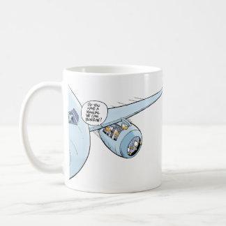 VersuchsSpaß-Kaffee-Witz-Tasse Tasse