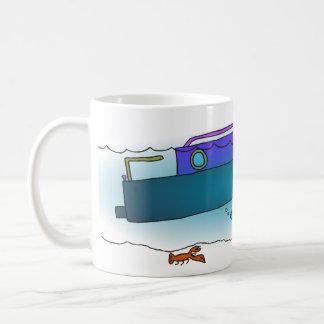 Versunkene Boots-Tasse Kaffeetasse