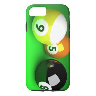 Vert de 9 de la boule 3D boules de piscine Coque iPhone 7
