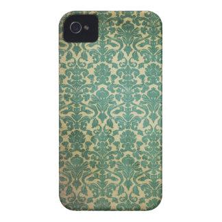 Vert et outre de la copie vintage blanche coques iPhone 4 Case-Mate