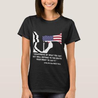 Verteidigen Sie die T der Redefreiheit-Frauen T-Shirt