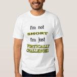 Verticalement contesté tee-shirt
