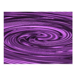 Vertigo (lila) postkarte
