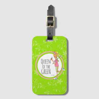 Vertikal-Königin des Grüns Gepäckanhänger
