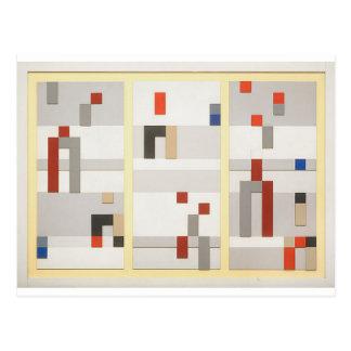 Vertikale und horizontale Zusammensetzung Sophie Postkarte