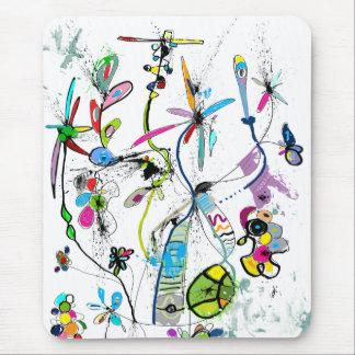 Vertikales Mousepad Alice' s Garden