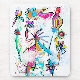 Vertikales Mousepad Alice' s Garden II