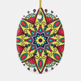 Vertrauen Ovales Keramik Ornament