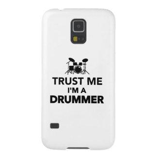 Vertrauen Sie, dass ich ich ein Schlagzeuger bin Samsung S5 Hüllen