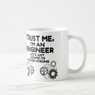 Vertrauen Sie mir, ich sind ein lustiger Ingenieur Kaffeetasse