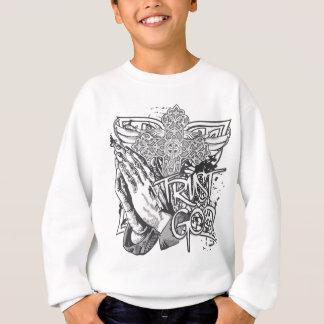 Vertrauens-Gott-Gebets-Hände Sweatshirt