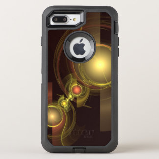 Vertraute Verbindungs-abstrakte Kunst OtterBox Defender iPhone 7 Plus Hülle