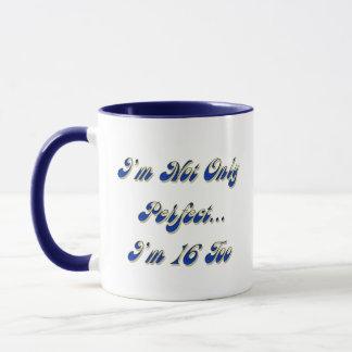 Vervollkommnen Sie 16 Tasse